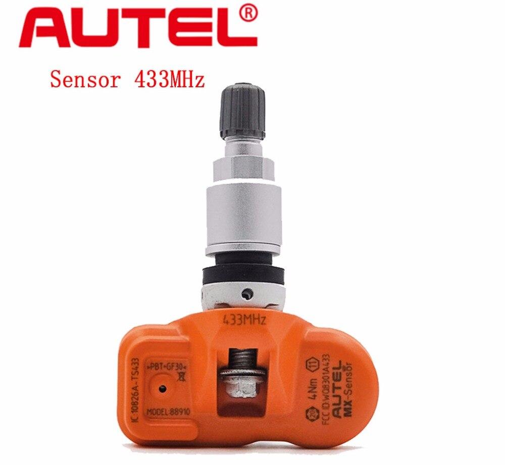 Цена за Oringinal Autel MX-Датчик 315/433 МГц Универсальный Программируемый TPMS Датчик Специально Построенный для Давления в Шинах Датчик Замена