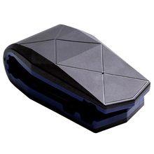 Clipe Crocodilo Universal Painel Do Carro Celular GPS Montar Titular Suporte Do Telefone Móvel, azul