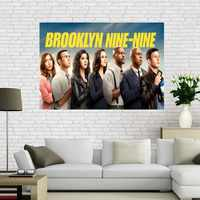 Custom Brooklyn Nine-Nine wall poster Home Decor 30x45cm Canvas Silks for family decoration Canvas Fabric Print Poster