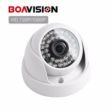Mini Analog HD Surveillance 2000TVL Dome CCTV Camera 1MP 2MP AHD Camera 720P 1080P Security IR 20M Nightvision Work For AHD DVR