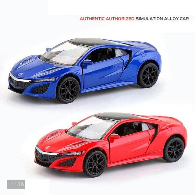 Hot 1 36 Scale Wheels Diecast Sport Car Honda Luxury Brand Acuras