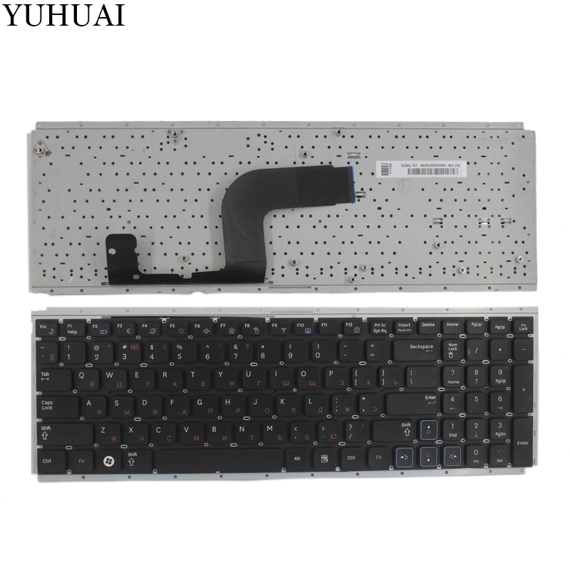 NEW Russian laptop keyboard for Samsung RC510 RC512 RC520 black RU laptop keyboard russian keyboard for gateway ne56 ne56r ne51b p5ws6 ne71b nv59a nv59c nv79c ru black