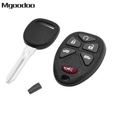 1 Set Keyless Entry Remote Key Fob KOBGT04A 15114376 + Uncut Ignition Transponder Key For Chevrolet HHR Uplander Buick Terraza