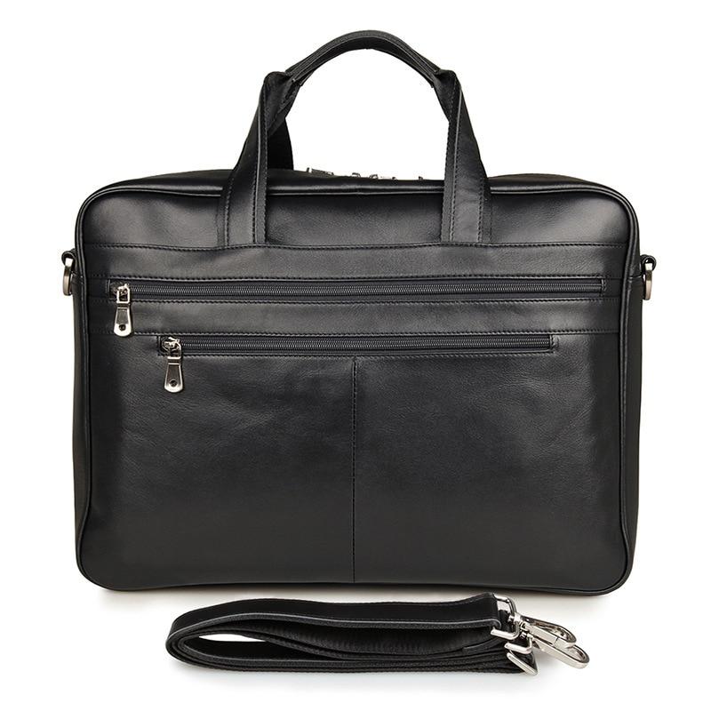 Vintage Genuine Leather Men Messenger Bags Cowhide Laptop Handbag Men's Briefcase Large Capacity Business Travel Bags #VP-J7319 все цены