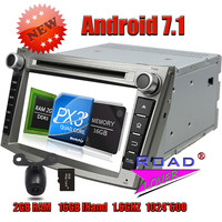 Wanusual 2G 16GB Quad Core Android 7 1 Car DVD Player Radio For Subaru Legacy Outback