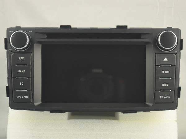 Navirider Eight Core Android 7 1 1 4GB ram car DVD player for TOYOTA HILUX 2012