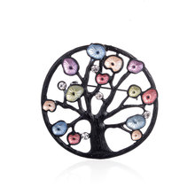 Newest Cring Coco Pins and Brooches for Women Black Tree of Life Designer Brooch Pin wedding Lady Jewelry Dress Coat Accessories