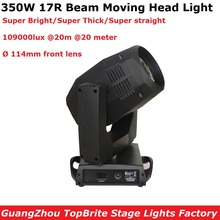 Sharpy Beam Moving Head Lights 350W 17R 8/24 Facet Prism Professional Dj Lighting Shows Equipments