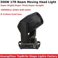 Sharpy Beam Moving Head Lights 350W Beam 17R Moving Head Beam Lights 8/24 Facet Prism Professional Dj Lighting Shows Equipments
