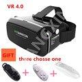 """ГОРЯЧАЯ V2016 Смартфон VR Виртуальная Реальность 3D Очки VR 4.0 3D стекла head-mounted 3 d видео очки 3.5 """"6.0"""" смарт-телефоны"""