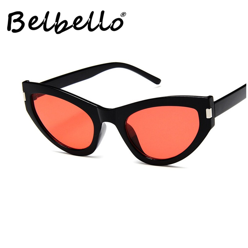 Belbello Adult Wrap Sunglasses Women Casual Men Handsome Fashion Unisex Blue Patchwork UV400
