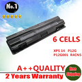 WHOLESALE New 6CELLS Laptop Battery For Dell  XPS 14  15  17  L401X  L501X  L502X  L701X  L702X  SERIES 08PGNG 0J70W7 0JWPHF