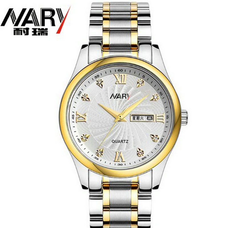 2016 new business casual watch fashion double calendar male and female students business Couples table calendar 2017 a5 calendar handbook of efficiency for industry and commerce business notepad log can be customized logo