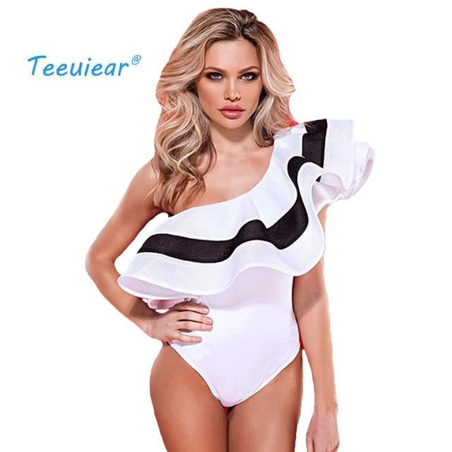 cd89e5c5049c € 12.74 50% de DESCUENTO|Aliexpress.com: Comprar Moda 2019 nuevo elegante  fuera del hombro volantes Blusa Casual playa Blusas cuerpo camisa Mujer ...