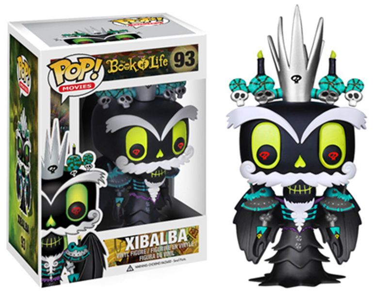 Funko pop Official Movies: Book of Life - King Xibalba Vinyl Action Figure Collectible Model Toy with Original Box exclusive funko pop official dc heroes wonder woman 177 blue dress action figure collectible model toy with original box