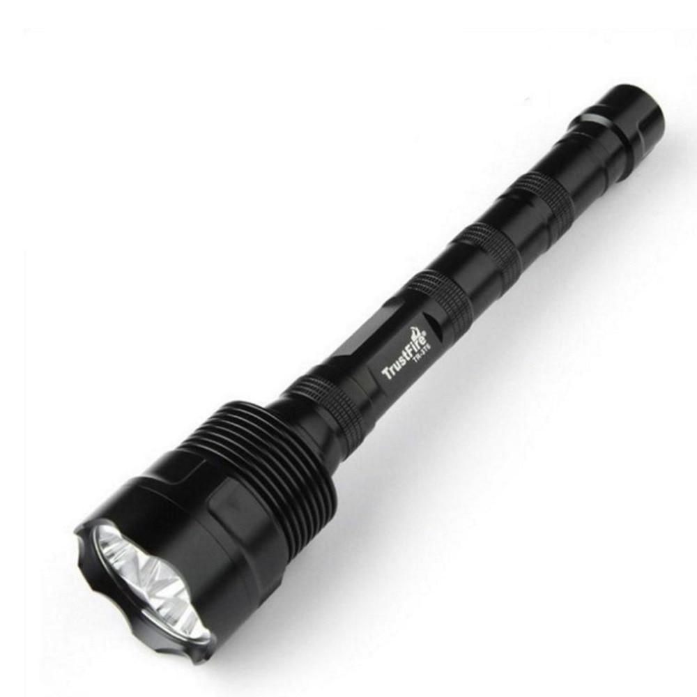 Actif 30 W Lampe De Poche Forte Lumière 3 Cree T6 Lampes De Poche Led Rechargeable Télescopique Zoom Lampe De Poche Flash Tactique Lumière 5 Modes Lumière Led