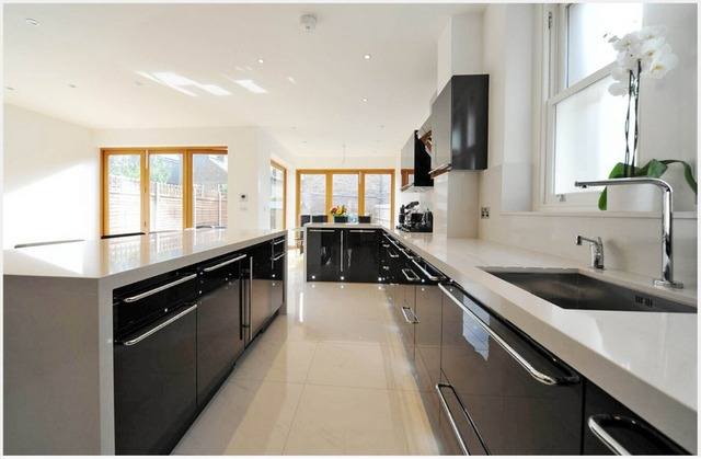 2017 Furniture For Kitchen White Lacquer Modular Kitchen Cabinets  Customized Design Kitchen Unit Hot Sales