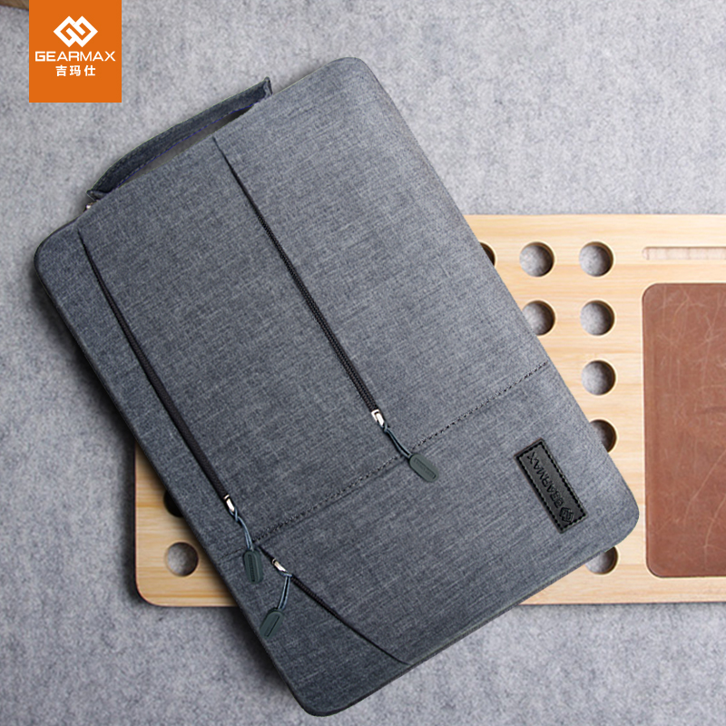 Gent Business Sleeve Pouch For Dell Vostro 14 Laptop Case High-capacity Handbag Notebook Cover For DELL XPS 13 14 15 INS 15 BagGent Business Sleeve Pouch For Dell Vostro 14 Laptop Case High-capacity Handbag Notebook Cover For DELL XPS 13 14 15 INS 15 Bag