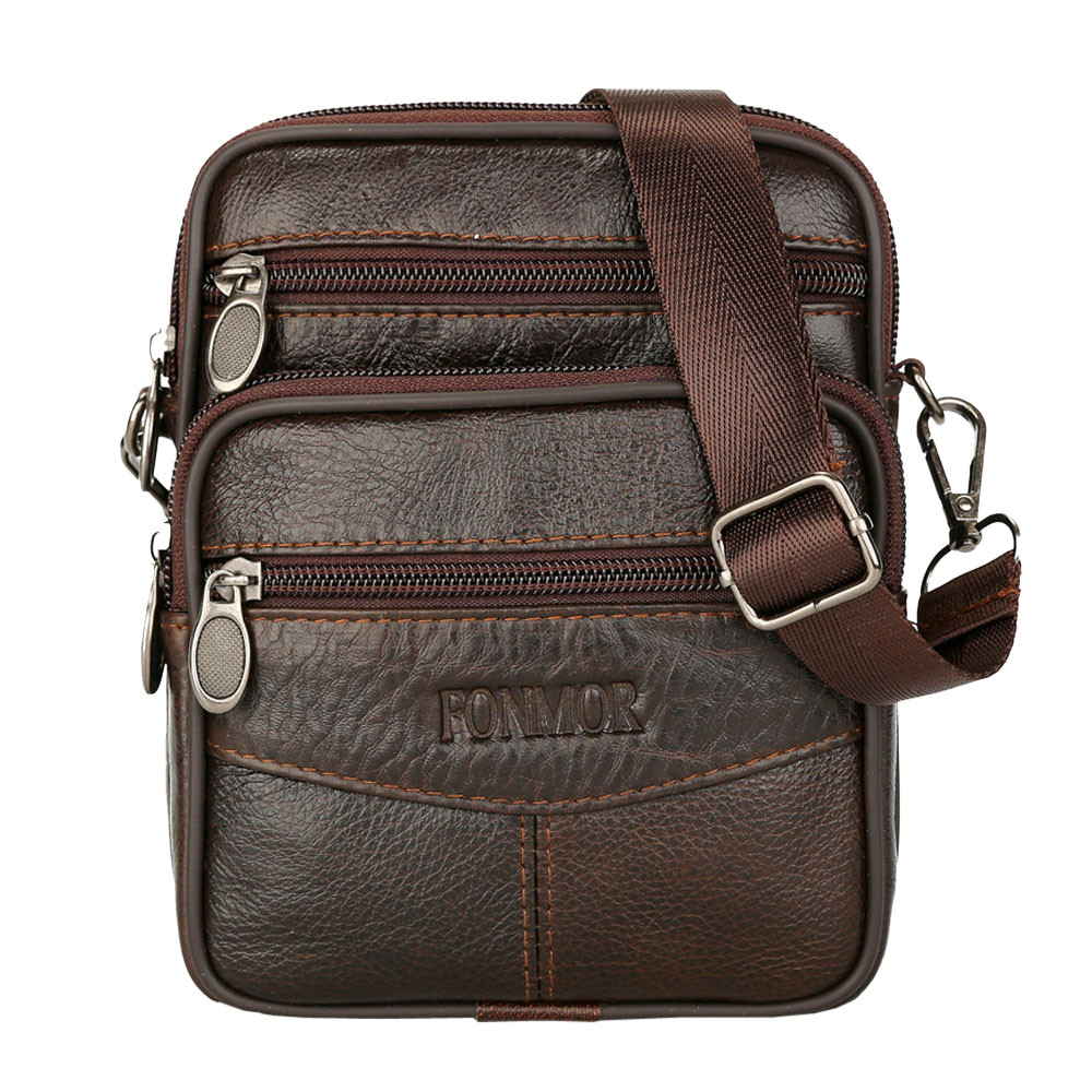 Crossbody-Bag Messenger-Bags Promotion Brand Classic Vintage-Style Male Men Hot-Sell
