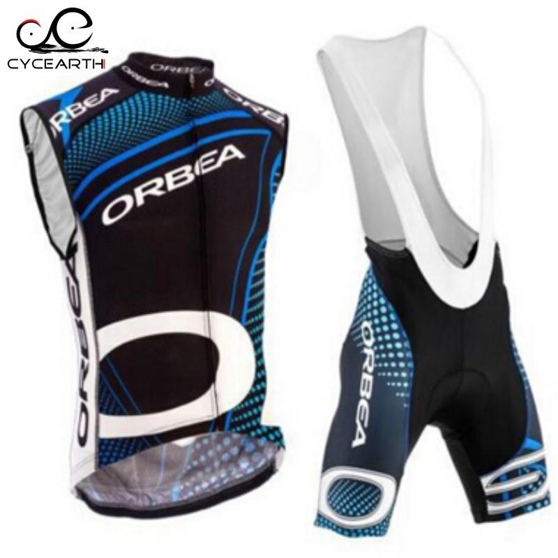 Prix pour 2016 ORBEA d'été sans manches cyclisme maillot Ropa De Ciclismo vélo set up usage de bicyclette cycle bib shorts