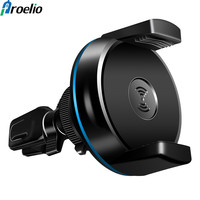 2018 Car Air Vent Mount Qi Wireless Charger For IPhone X 8 For Samsung Note 8