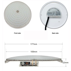 Image 3 - RGB Swimming Pool Light 12v Expoxy Filled Surface PAR56 Replacement Piscinas 18W 24W 30W 35W 42W pure white warm white