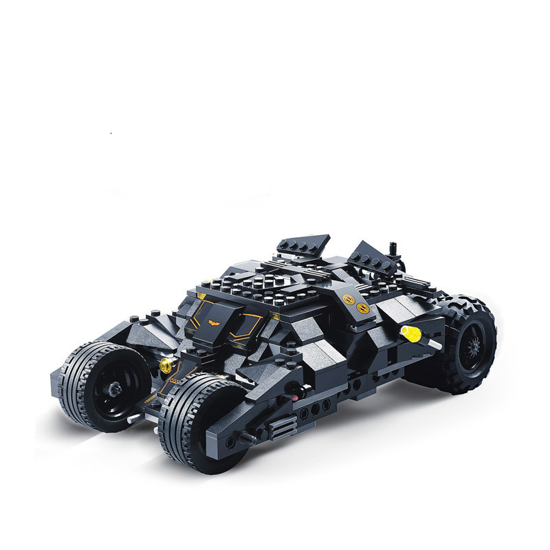 DC Superheros Batmobile Car Batman Joker Legoings 7105 Model Building Blocks Brick Educational Toys for Kids Christmas Gift(China)