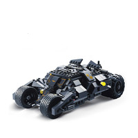DC Superheros Batmobile Car Batman Joker Legoings 7105 Model Building Blocks Brick Educational Toys for Kids Christmas Gift