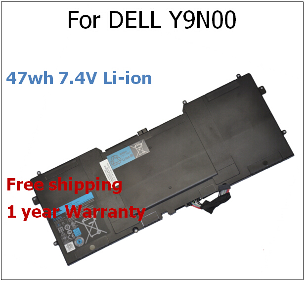 ФОТО 47wh 7.4V Li-Ion Battery for dell Y9N00 for Dell XPS 13 13-L321X 13-L322X Series Laptop