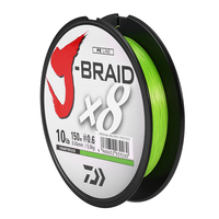 Daiwa 100% Original J BRAID X8 300M 8 braided fishing line monofilament fishing PE line 10 60lb made in japan Pesca Sea Fishing