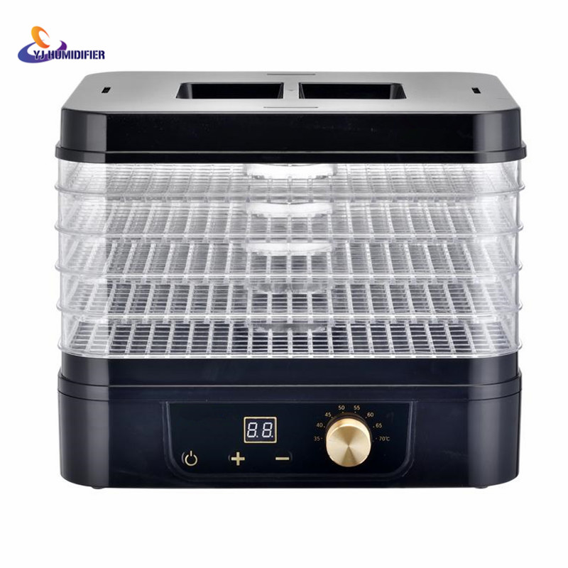 5 Trays Food Fruit Dehydrator Drying Fruit Machine Home Food Dryer Dehydrator With Timing Function And Temperature Control 5 trays 245w food fruit dehydrator drying fruit machine home food dryer dehydrator with timing function and temperature control