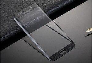 Image 3 - RONICAN S6 edge полное изогнутое 3D закаленное стекло Защита для экрана Защитная пленка Pelicula de vidro для Samsung Galaxy S6 Edge plus