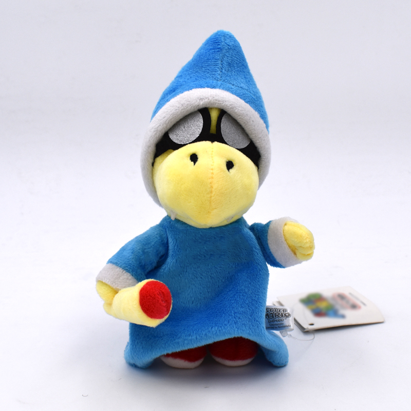 18cm Super Mario Bros Magikoopa Kamek Peluche Dolls Soft Toys Game Super Mario Plush Toy Stuffed Dolls Gift
