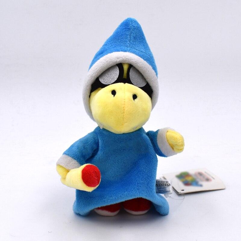 18cm Super Mario Bros Magikoopa Kamek Peluche Dolls Soft Toys Game Super Mario Plush Toy Stuffed Dolls Gift