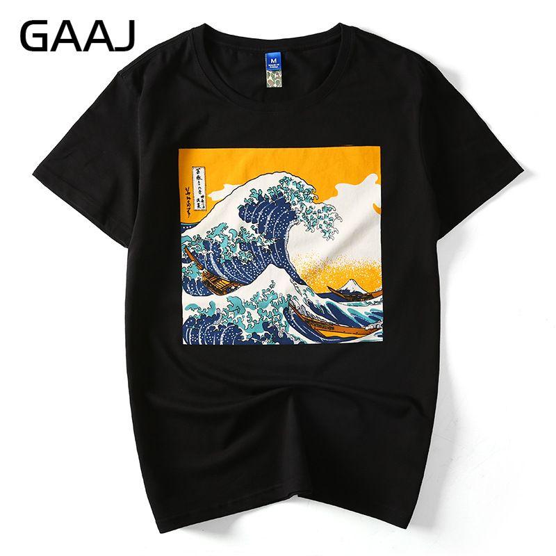 Gaaj 3xl Men T Shirts Casual T Shirt Chinese Japanese