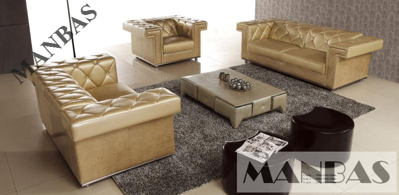 Modern industrial design multi function leather sofa factory