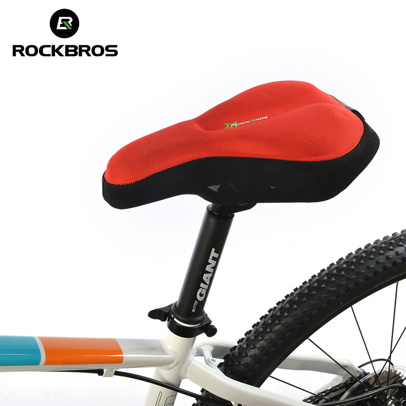 RockBros Bike Bicycle Cycling Cycle Seat Post Cover Sponge Pad Ventilate Soft Bike Cushi ...