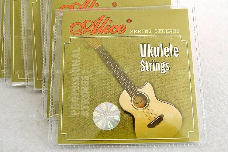 SYDS 1 set Ukulele Strings 4 pieces set, 21 23 Ukulele parts accessories - Alice AU04 alice a704 senior performance violin strings set