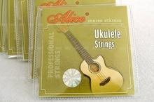 """SYDS 1 set Ukulele Strings 4 piezas set, 21 """"23"""" Ukelele partes accesorios - Alice AU04"""