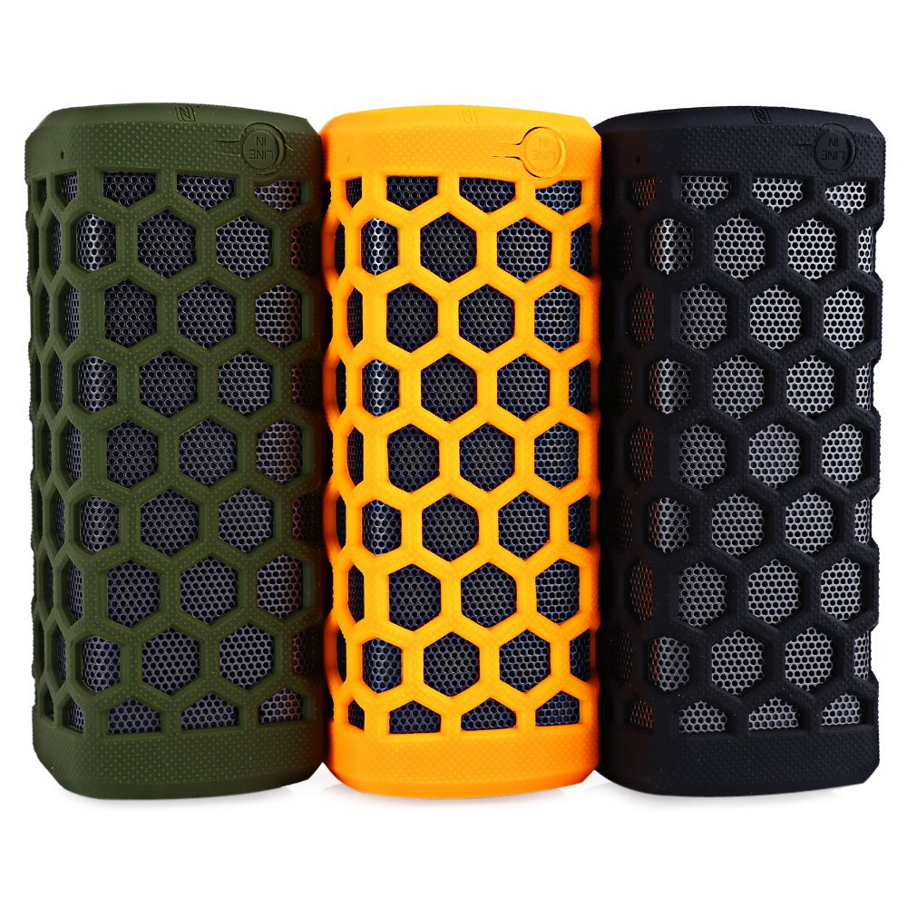 TOPS Outdoor Bluetooth Speaker With 7000mAh Power Bank Loudspeakers Support Water Resistant Dust-proof Compatible With Phone PC