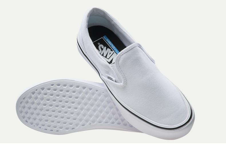 d33df4d01bac15 Original Vans Shoes Light Weight White Unisex Women Men ...