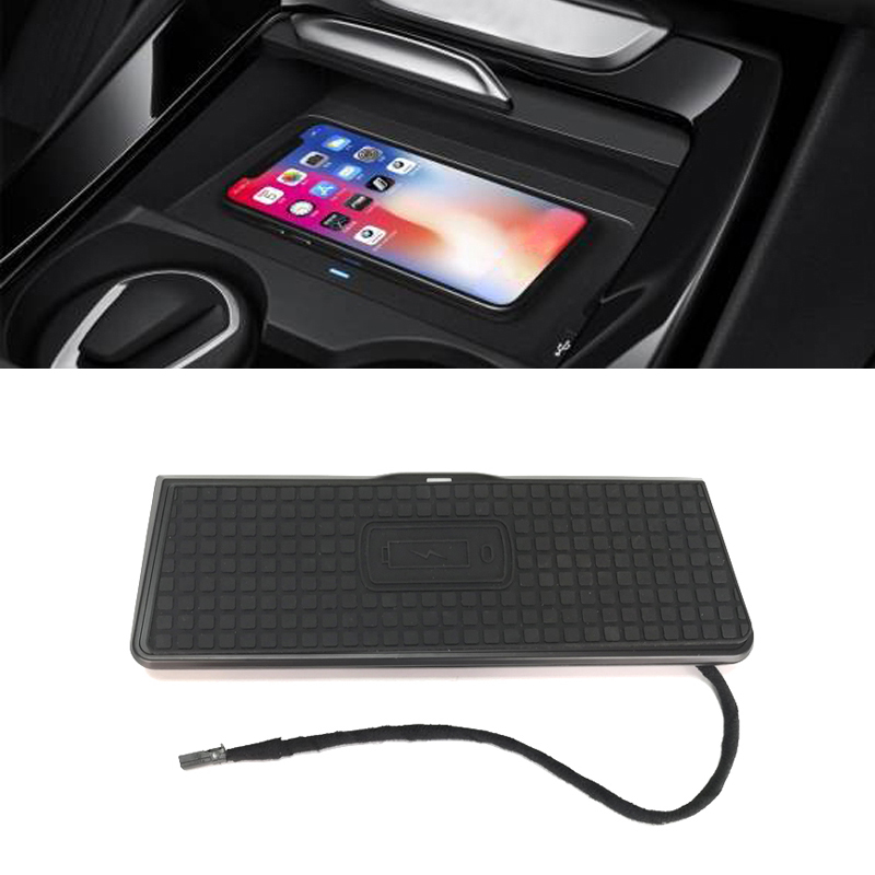 Car QI wireless phone charger fast charging plate center