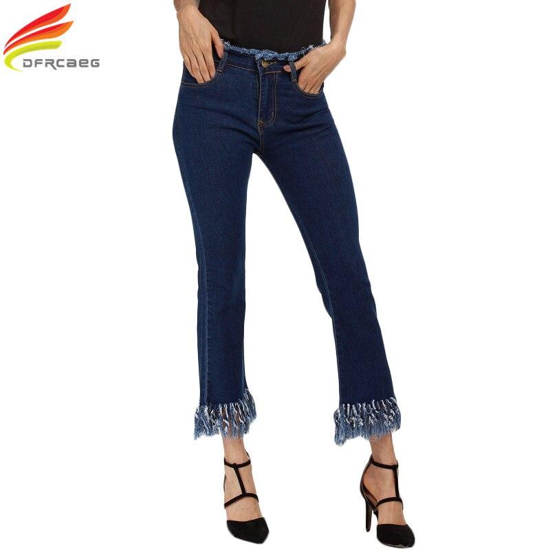 DFRCAEG Women Jeans 2017 New Fashion Women Large Size Jeans 4XL 5XL European and American Style Denim Jeans Women Jeans Femme