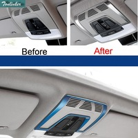 1 PCS Car New DIY Stainless Steel Three Color Readlight Light Box Cover Case For Bmw