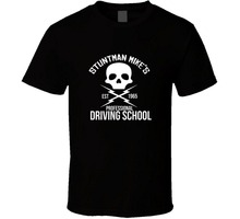 T-Shirt New Brand GRINDHOUSE: DEATH PROOF Driving School T-shirt Hot Sale Casual Clothing