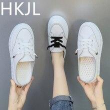 HKJL Black slipper womens shoes outside wear 2019 new summer fashion versatile lazy little white baotou half drag single