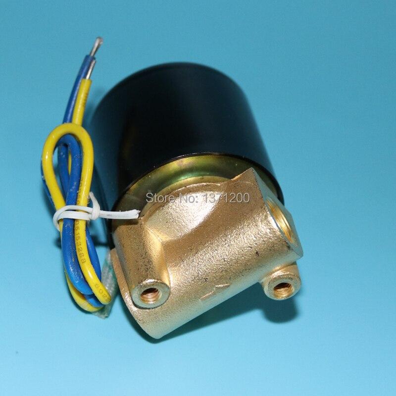 1/2 Dc12v/24 V Normal Geschlossen Elektrische Magnetventil Pneumatische Ventil Für Wasser Öl Luft Gas 3/4 Schnelle Lieferung 2018 Neue 1/4 3/8 Ac220v
