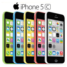"""Оригинальный разблокирована apple iphone 5c мобильный телефон dual core 4.0 """"8.0MP Камера 3 Г WI-FI GPS 8 ГБ/16 ГБ/32 ГБ 5c сотовый телефон Бесплатные Подарки"""