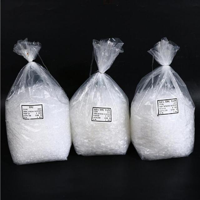 Transparente TPU Fita Adesiva Transparente Elástico Para Swimwear, Sutiã, Cinta de Ombro 1 KG/bag-3mm/5mm/6mm de Largura * 0.12 Espessura DHL frete grátis