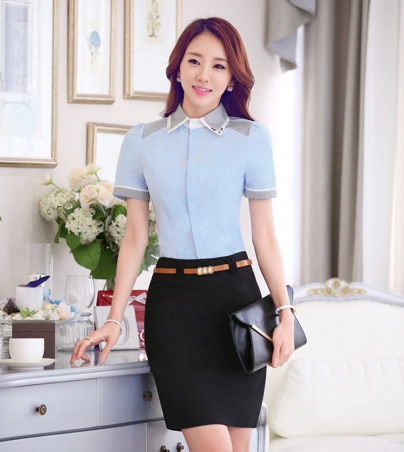 Online Get Cheap Formal Skirts Blouses and Blazer -Aliexpress.com ...